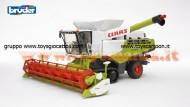 Bruder 02119 , 2119 claas , Claas Lexion 780 Terra Trac Combine harvester con cingoli in gomma scala 1/16 [ cod 02119 ]