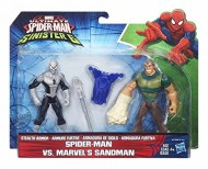 Ultimate Spiderman, SPIDERMAN VS MARVEL'S SANDMAN uomo sabbia Hasbro B6139-B5761
