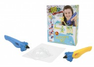 Giochi Preziosi - Ido3D ,  i do 3d , Vertical Activity Set con 2 Penne 3D, Multicolore