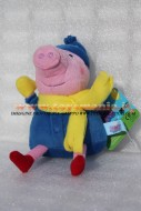 PELUCHE PEPPA PIG PERSONAGGIO IL FRATELLO George Pig DI CIRCA 23 CM COD 345/152