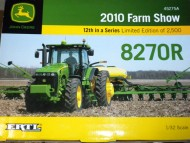 BRITAINS NOVITA'John Deere 8270 R Farm Show 2010 Limited IN SCALA 1/32 COD 45275
