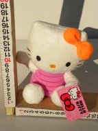 PELUCHE DI HELLO KITTY CON  FIOCCO