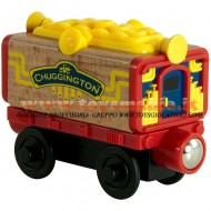 Chuggington: WOOD MUSICAL CARRIAGE PERSONAGGIO Chuggington: WOOD MUSICAL CARRIAGE PREZZO MIGLIORE GIOCHI , toys , BRINQUEDOS ,JUGUETES , JOUETS , giocattolo LC 56008
