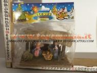 Millenium Christmas capanna con natività per presepe 514 ABBIAMO ANCHE CAPANNE GRANDI CIRCA 35 CM per PRESEPE IN STOCK da finire 40 PEZZI A 80 EURO CONTATTACI 3472436446