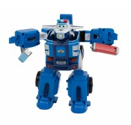 Super Wings Veicolo Robot Trasformabile, Personaggio Paul di Giochi Preziosi UPW81000