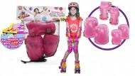 Soy Luna YLU02211 - Kit Protezioni Bambina per Pattini, ginocchiere  Taglia S