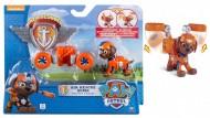 Paw Patrol, Air Rescue Zuma, Pup Pack & Badge  - Aria Salvataggio Cucciolo Zuma Giochi
