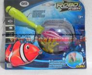 !!! giochi preziosi !!! ROBOT FISH DELUX (1 ROBOT FISH + RETINO + 2 CORALLI) COD NCR 02190
