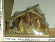 Millenium Christmas. Capanna in legno massiccio, ralizzata a mano da esperti falegnami. cod.342
