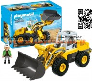 PLAYMOBIL 5469 RUSPA City Action - Large Front Loader - 5469