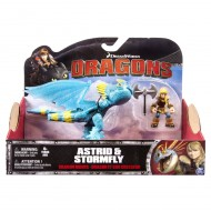 DreamWorks Dragons, Dragon Riders, Astrid & Stormfly dragons trainer