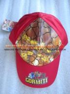 !!!! Cappello !!!!!!  con visiera color rosso per bambini con personaggio gormiti
