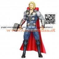 SUPEREROI Marvel The Avengers Thor Mighty Battlers Hasbro