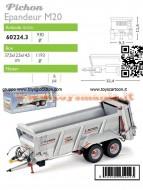 ROS-AGRITEK 60224 SCALA 1/32 PICHON MUCK MASTER M20 IN METALLO