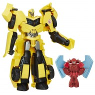 Transformers Power Hero Bumblebee & Mini-con Buzzstrike B7069-B7067 di Hasbro