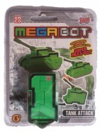 MEGA BOT - MEGABOT GRANDI GIOCHI - CREA IL TUO ROBOT MODELLO NUMERO 1 -TANK ATTACK