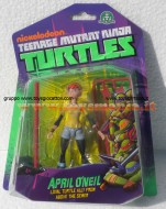 !!! GIOCHI PREZIOSI 2013 !!! TURTLES TEENAGE MUTANT NINJA, TARTARUGHE NINJA PERSONAGGI BASE APRIL O'NEIL GPZ 90500  NICKELODEON