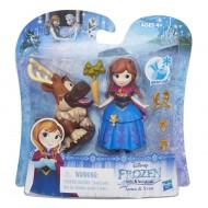 Disney Frozen Little Kingdom mini bambole di Anna & Sven B5187-B5185 di Hasbro