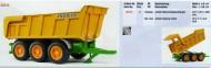 Bruder rimorchio ribaltabile Joskin cod 02212