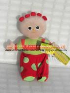 LA FORESTA DEI SOGNI , IN THE NIGHT GARDEN PELUCHE CIRCA 33 CM PERSONAGGIO TOMBOLINO , Tombliboo, ORIGINALE UFFICIALE CARTONE ANIMATO GIOCATTOLI PELUCHE toys , BRINQUEDOS ,JUGUETES , JOUETS , giocattoli COD F.F.30