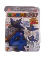 MEGA BOT - MEGABOT GRANDI GIOCHI - CREA IL TUO ROBOT MODELLO NUMERO 4 - SKYFIGHTER