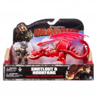 Dragons Snotlout & Hookfang Spin Master dragons trainer