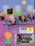 !!! PEPPA PIG 2013 CLASSE !!!! PEPPA PIG TUTTI A SCUOLA , CLASSE CON 7 PERSONAGGI INCLUSI CCP 04432