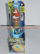 Robo fish led con luce , pesce pagliaccio 02292