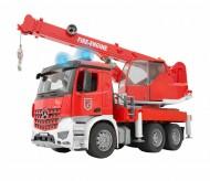 Bruder 3675 Mercedes Benz  Arocs Autogru Pompieri con luci e suoni