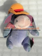 PELUCHE DISNEY WINNIE POOH personaggio Ih Oh è l'asinello amico di Winnie the Pooh  TG 3 ALTEZZA CM 30 circa
