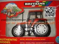 BRITAINS TRATTORE NEW HOLLAND L85 FIATAGRI TERRA COTTA SCALA 1/32 COD 9489 FUORI PRODUZIONE