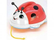 Carrying Lady Bird Coccinella trainabile suoni+movim.ali  CLB2031 di BONTOYS