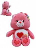 Amororsa 24/30cm Soffice Peluche Gli orsetti del cuore Care Bears Due Cuoricini Rosso Orso