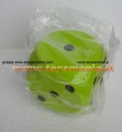 Cubo , Dado in spugna circa 20 cm color verde giocattoli