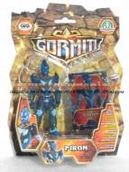 !!! GORMITI 2012 !!! NUOVISSIMA SERIE DA 10 CAMBIA COLORE CON CARTA OLOGRAFICA personaggio PIRON  , toys , BRINQUEDOS ,JUGUETES , JOUETS , giocattolo COD 02620