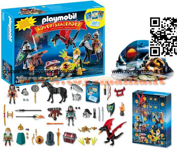 Calendario Avvento Playmobil.Playmobil 5493 Calendario Dell Avvento Battaglia Per Il