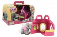 Pet Parade Pony Playset Stalla con Pony Esclusivo Stable e Accessori di Giochi Preziosi PTN02000