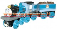 !!!! novita' !!!!Trenino Thomas and Friends personaggio  FERDINAND cod LC98063 in legno