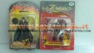 Zorro !!!  offerta 2 pezzi personaggio ZORRO L'EROE MASCHERATO e ZORRO LANCIA PUGNALI  in esaurimento