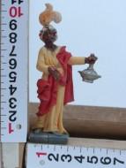 Statuine economiche personaggi presepe re magi in piedi cod 119