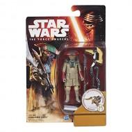 Star Wars: Il Risveglio della Forza - Constable Zuvio 9 cm di Hasbro B3968-B3963
