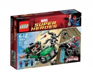 LEGO Super Heroes 76004 - Spider-Man, Inseguimento sul Ragno-Ciclo