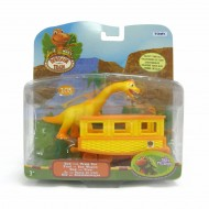 Il treno dei dinosauri - Collectible Ned With Train Car LC53005 - LC53001