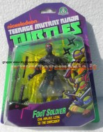!!! GIOCHI PREZIOSI 2013 !!! TURTLES TEENAGE MUTANT NINJA, TARTARUGHE NINJA PERSONAGGI BASE FOOT SOLDIER GPZ 90500  NICKELODEON