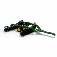 britains John Deere Disc Harrow - Big Farm scala 1/16 compatibile bruder lc 45060
