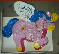 Grabo Palloni Gonfiabili Cavallo Alato Unicorno