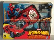 !!! HASBRO !!!! SPIDER MAN MACCHINA SPARA MISSILI E PERSONAGGIO DA 10 CM COMPRESO COD HDG 93637