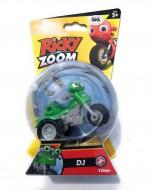 Nuovo Ricky Zoom - Dj personaggio giocattolo circa 9 cm cod rcy 00000