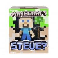 Minecraft - Steve Personaggio, in Plastica, 15 cm