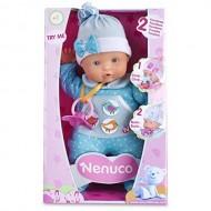 Nenuco Bambola che Piange, 30 cm, Azzurro di Famosa 700012663